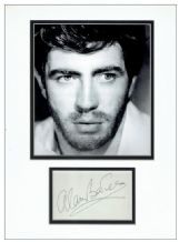 Alan Bates Autograph Signed Display